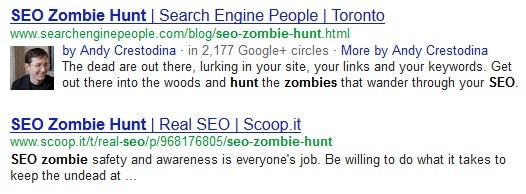 Rich snippets hos Google