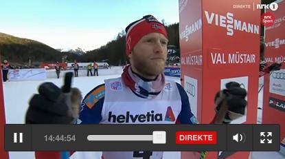 Martin Sundby - Tour de Ski