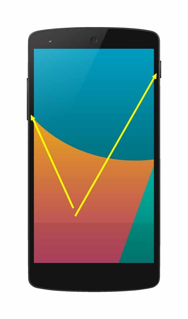 Skjermbilde Android