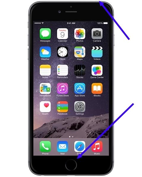 skjermbilde iPhone