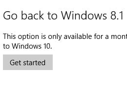 Tilbake til Windows 8