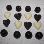 Hjemmelaget konfekt og sjokoladeplater