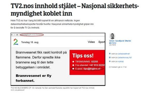 artikkel on TV2 pa NRK
